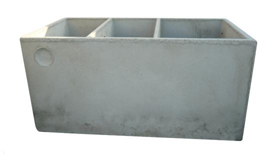 Fossa settica a tre comparti salvalaio cesare for Fosse settiche in cemento