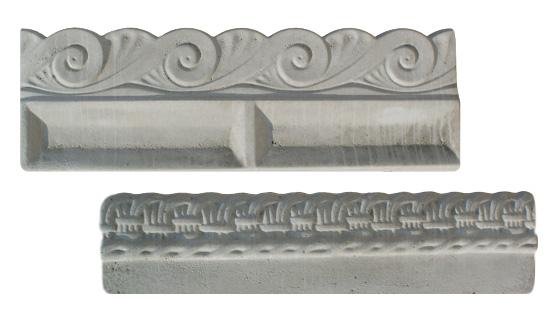 Cordoli in cemento per giardino tavolo consolle allungabile for Cordoli per giardino