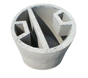 Vasca a due elementi diametro 80 - 100 - 125 - 150 - Salvalaio Cesare - Industria Manufatti in ...